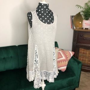 Entro brand tunic top size large